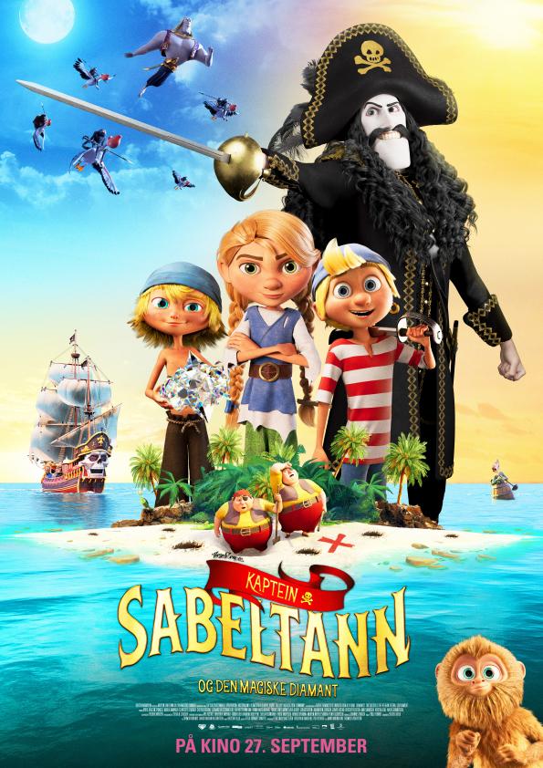 Captain Sabertooth and the Magic Diamond (2019) Online Subtitrat in Romana