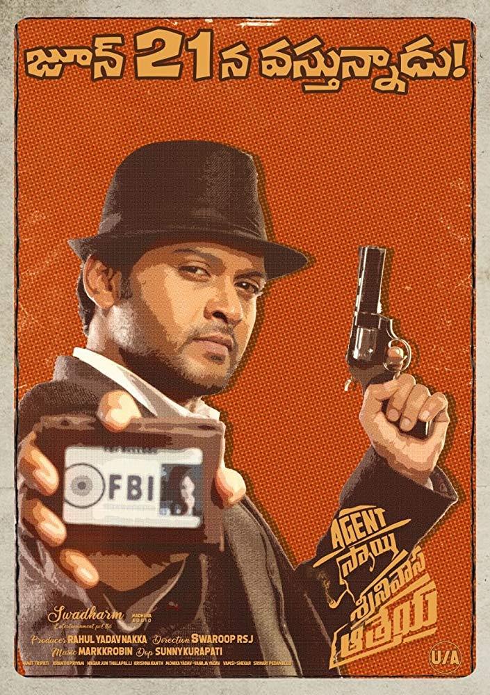 Agent Sai Srinivasa Athreya (2019) Online Subtitrat in Romana