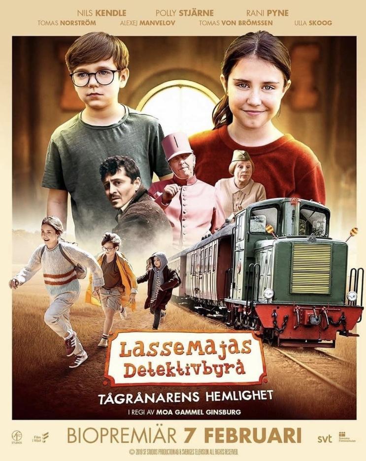 LasseMajas detektivbyrå – Tågrånarens hemlighet (2020) Film Online Subtitrat